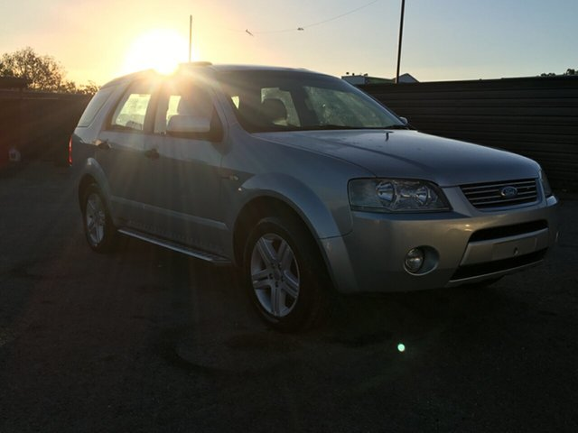 Used Ford Territory SY Ghia AWD Blair Athol, 2007 Ford Territory SY Ghia AWD Silver 6 Speed Sports Automatic Wagon