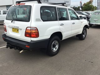 2001 Toyota Landcruiser HZJ105R RV White 5 Speed Manual Wagon