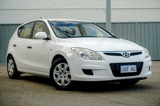2008 Hyundai i30 FD SX White 4 Speed Automatic Hatchback.