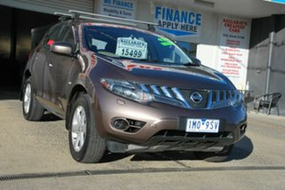 2011 Nissan Murano Z51 MY12 ST Brown Continuous Variable Wagon