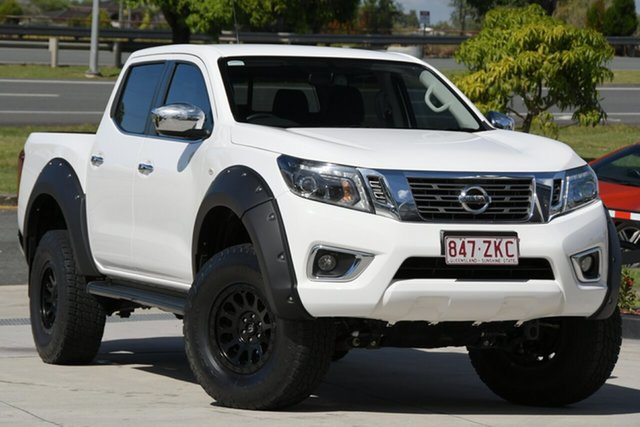 Used Nissan Navara D23 S4 MY20 ST King Cab North Lakes, 2019 Nissan Navara D23 S4 MY20 ST King Cab White 7 Speed Sports Automatic Utility