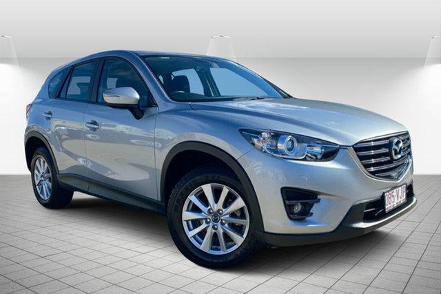 Used Mazda CX-5 KE1071 MY14 Maxx SKYACTIV-Drive Sport Hervey Bay, 2014 Mazda CX-5 KE1071 MY14 Maxx SKYACTIV-Drive Sport Silver 6 Speed Sports Automatic Wagon