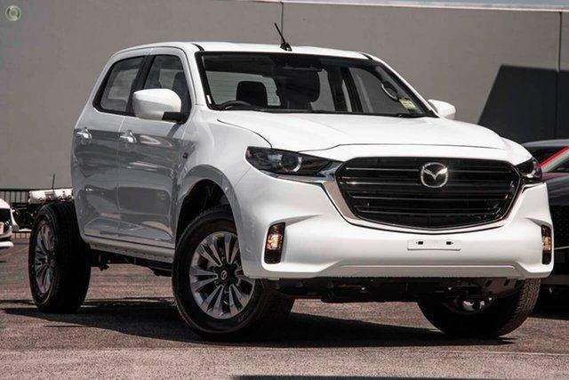 New Mazda BT-50 TFS40J XT East Maitland, 2020 Mazda BT-50 TFS40J XT White 6 Speed Sports Automatic Cab Chassis