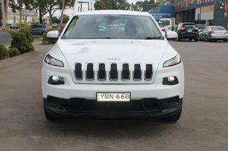 2014 Jeep Cherokee KL Sport (4x2) 9 Speed Automatic Wagon.