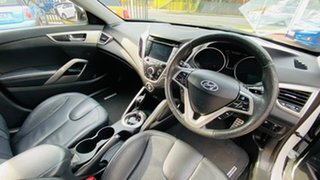 2011 Hyundai Veloster FS + Coupe D-CT 6 Speed Sports Automatic Dual Clutch Hatchback.