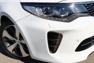2018 Kia Optima JF MY18 GT White 6 Speed Sports Automatic Sedan.