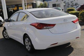 2013 Hyundai Elantra MD2 Active Creamy White 6 Speed Sports Automatic Sedan.