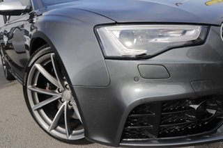 2015 Audi RS5 8T MY15 S Tronic Quattro Daytona Grey Pearl/leather 7 Speed.