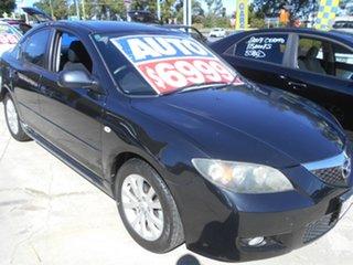 2006 Mazda 3 BK10F1 Maxx Sport Black 4 Speed Sports Automatic Sedan.