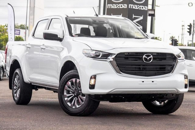 New Mazda BT-50 TFS40J XT East Maitland, 2021 Mazda BT-50 TFS40J XT White 6 Speed Sports Automatic Utility