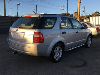 2007 Ford Territory SY Ghia AWD Silver 6 Speed Sports Automatic Wagon.