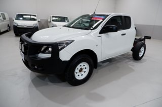 2016 Mazda BT-50 UR0YF1 XT Freestyle White 6 Speed Sports Automatic Cab Chassis.