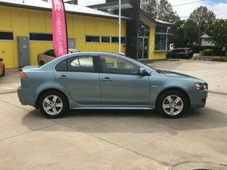 2009 Mitsubishi Lancer CJ MY09 VR Blue 6 Speed Constant Variable Sedan