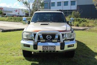 2005 Nissan Patrol GU IV MY05 ST-S Gold 4 Speed Automatic Wagon.