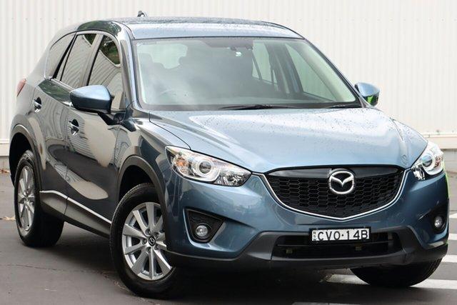 Used Mazda CX-5 KE1031 MY14 Maxx SKYACTIV-Drive AWD Sport Wollongong, 2014 Mazda CX-5 KE1031 MY14 Maxx SKYACTIV-Drive AWD Sport Blue Reflex 6 Speed Sports Automatic Wagon