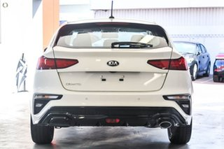 2021 Kia Cerato BD S White Sports Automatic Hatchback.