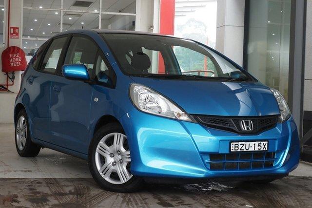 Used Honda Jazz GE MY11 VTi Parramatta, 2011 Honda Jazz GE MY11 VTi Blue 5 Speed Manual Hatchback