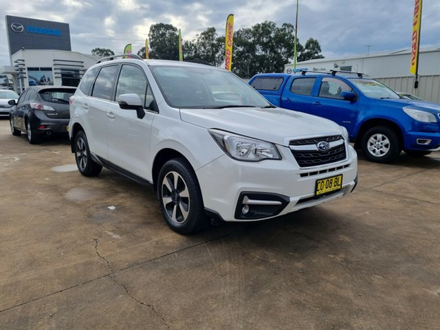 Used Subaru Forester S4 MY18 2.5i-L CVT AWD Glendale, 2017 Subaru Forester S4 MY18 2.5i-L CVT AWD White 6 Speed Constant Variable Wagon