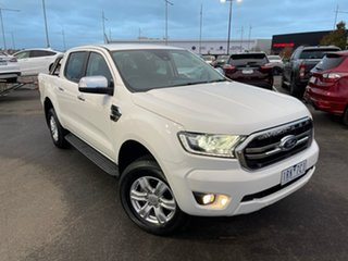 2019 Ford Ranger PX MkIII 2019.75MY XLT Hi-Rider White 10 Speed Sports Automatic Double Cab Pick Up.