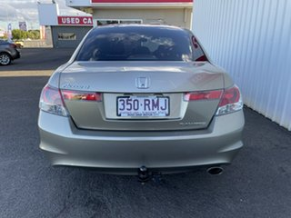 2010 Honda Accord 8th Gen MY10 VTi Gold 5 Speed Sports Automatic Sedan