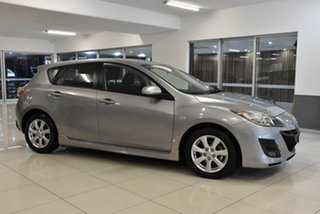 2011 Mazda 3 BL10F1 MY10 Maxx Activematic Sport Silver 5 Speed Sports Automatic Hatchback.