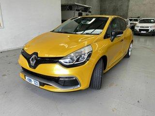 2014 Renault Clio IV B98 R.S. 200 EDC Sport Premium Yellow 6 Speed Sports Automatic Dual Clutch.