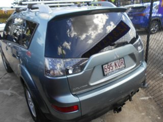 2008 Mitsubishi Outlander ZG MY08 VR Blue 6 Speed Sports Automatic Wagon