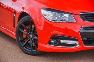 2014 Holden Commodore VF MY14 SS V Redline Red 6 Speed Manual Sedan.