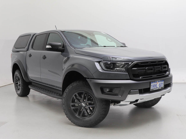 Used Ford Ranger PX MkIII MY19.75 Raptor 2.0 (4x4), 2019 Ford Ranger PX MkIII MY19.75 Raptor 2.0 (4x4) Conquer 10 Speed Automatic Double Cab Pick Up