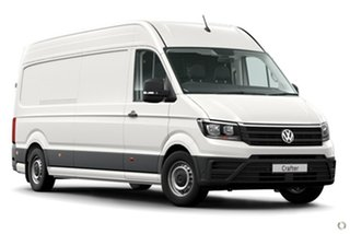 2021 Volkswagen Crafter SY1 MY21 35 High Roof LWB 4MOTION TDI410 White 8 Speed Automatic Van.