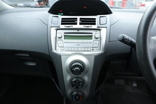 2009 Toyota Yaris NCP90R 08 Upgrade YR Silver 4 Speed Automatic Hatchback