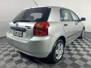 2006 Toyota Corolla ZZE122R 5Y Ascent Sport Silver 4 Speed Automatic Hatchback