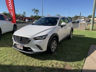 2018 Mazda CX-3 DK MY17.5 Maxx (FWD) White 6 Speed Automatic Wagon