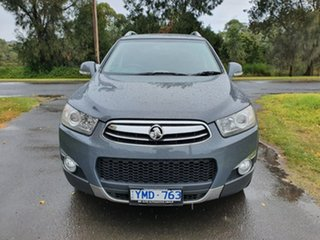 2011 Holden Captiva CG Series II 7 LX Grey Sports Automatic Wagon