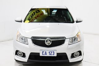 2014 Holden Cruze JH Series II MY14 SRi-V Silver 6 Speed Sports Automatic Hatchback.