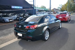 2016 Holden Commodore VF II SV6 Green 6 Speed Automatic Sedan.
