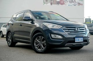 2014 Hyundai Santa Fe DM2 MY15 Active Blue 6 Speed Sports Automatic Wagon.