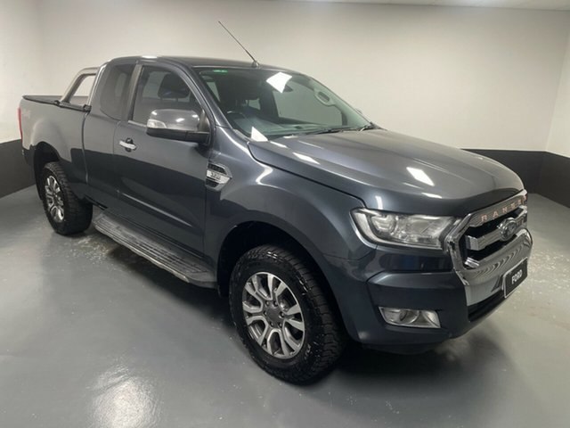 Used Ford Ranger PX MkII XLT Super Cab Rutherford, 2016 Ford Ranger PX MkII XLT Super Cab Metropolitan Grey 6 Speed Sports Automatic Utility