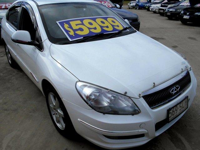 Used Chery J3 M1X Springwood, 2012 Chery J3 M1X White 5 Speed Manual Hatchback