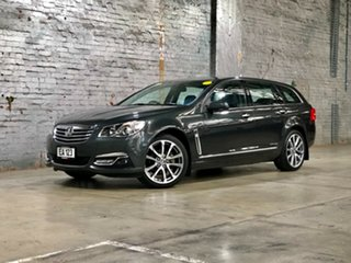 2017 Holden Calais VF II MY17 V Sportwagon Grey 6 Speed Sports Automatic Wagon.