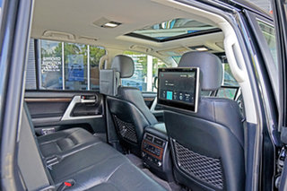 2018 Toyota Landcruiser VDJ200R Sahara Black 6 Speed Sports Automatic Wagon