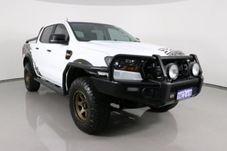 2018 Ford Ranger PX MkII MY18 XL 3.2 (4x4) White 6 Speed Manual Crew Cab Utility.