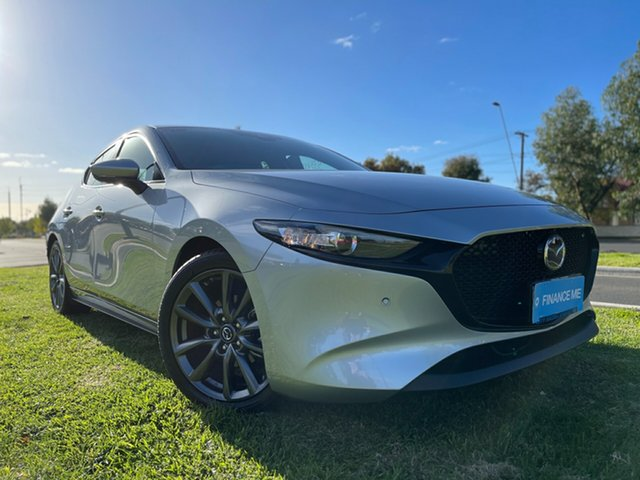 Used Mazda 3 BP2H7A G20 SKYACTIV-Drive Touring Hindmarsh, 2019 Mazda 3 BP2H7A G20 SKYACTIV-Drive Touring Sonic Silver 6 Speed Sports Automatic Hatchback