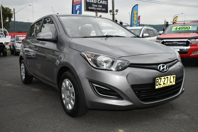 Used Hyundai i20 PB MY14 Active Gosford, 2014 Hyundai i20 PB MY14 Active Grey 4 Speed Automatic Hatchback