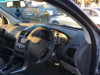 2007 Ford Territory SY Ghia AWD Silver 6 Speed Sports Automatic Wagon