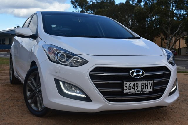 Used Hyundai i30 GD3 Series II MY16 SR Premium St Marys, 2015 Hyundai i30 GD3 Series II MY16 SR Premium White 6 Speed Sports Automatic Hatchback