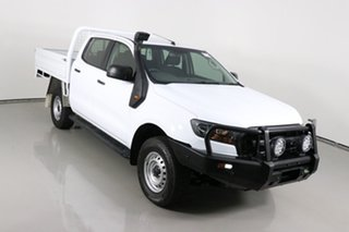 2018 Ford Ranger PX MkII MY18 XL 3.2 (4x4) White 6 Speed Automatic Crew Cab Chassis