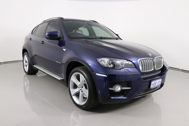 Used BMW X6 E71 MY11 xDrive40d Bentley, 2011 BMW X6 E71 MY11 xDrive40d Blue 8 Speed Automatic Coupe