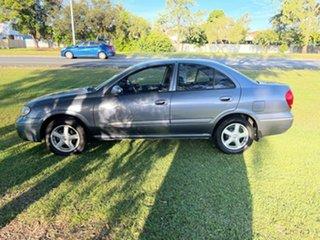 2005 Nissan Pulsar N16 MY2004 ST-L Purple 4 Speed Automatic Sedan