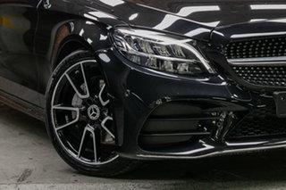2020 Mercedes-Benz C-Class W205 801MY C200 9G-Tronic Obsidian Black 9 Speed Sports Automatic Sedan.